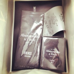 Photo taken at Abercrombie & Fitch by Robert B. on 11/25/2012