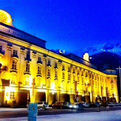 Photo taken at Hofburg Innsbruck by Laurel R. on 1/26/2013