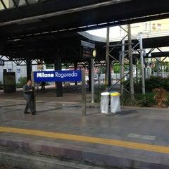 Photo taken at Stazione Milano Rogoredo by Paolo P. on 5/22/2013