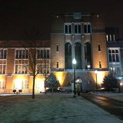 Photo taken at Johns Hopkins University - Eastern by Kristen M. on 1/26/2013