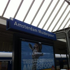 Photo taken at Station Amsterdam Muiderpoort by XFuckoff on 4/10/2013