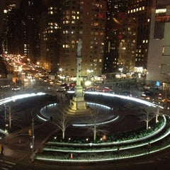 Photo taken at Columbus Circle by Kai on 3/15/2013