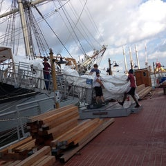 Photo taken at Texas Seaport Museum by Nikki H. on 9/27/2013