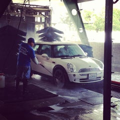 Photo taken at Lozano Brushless Car Wash by Ray L. on 3/12/2013