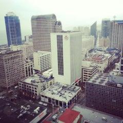 Photo taken at Hilton Seattle by yehudi m. on 3/1/2013