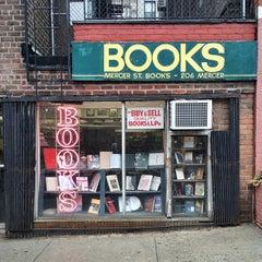 Photo taken at Mercer Street Books by Matt V. on 4/29/2015