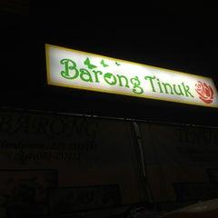 Photo taken at Barong Tinuk by Imran I. on 3/8/2013