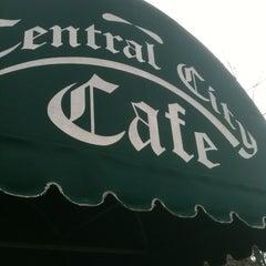 Photo taken at Central City Cafe by Tammy A. on 1/12/2013