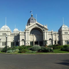 Photo taken at Royal Exhibition Building by Amelyn S. on 4/5/2013
