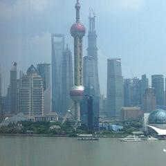Photo taken at Hyatt on the Bund Shanghai by SH P. on 7/21/2013