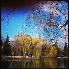 Photo taken at Городской парк культуры и отдыха им. М. Горького by Nadya C. on 4/25/2013