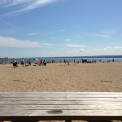 Photo taken at Presque Isle Beach 11 by Jenny P. on 7/13/2013