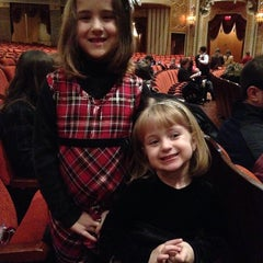 Photo taken at Warner Theatre by Jenny P. on 12/21/2013