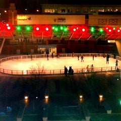 Photo taken at Silver Spring Ice Rink at Veterans Plaza by Paul R. on 3/2/2013
