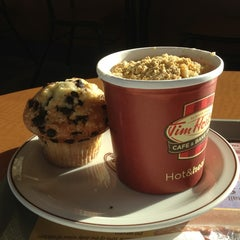 Photo taken at Tim Hortons by 👑 JoAnne R. on 2/18/2013