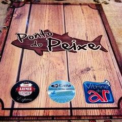 Photo taken at Ponto do Peixe by Jefferson B. on 3/2/2013