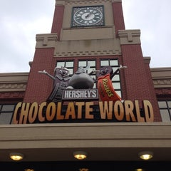 Photo taken at Hershey's Chocolate World by Adia J. on 7/28/2013