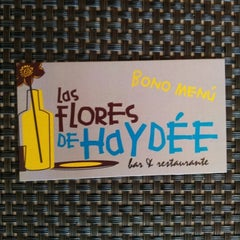 Photo taken at Las Flores De Haydée by Hector C. on 11/7/2012