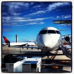 Photo taken at Salt Lake City International Airport (SLC) by R R. on 9/15/2013
