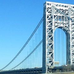 Photo taken at George Washington Bridge by Seamus S. on 4/26/2013