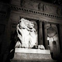 Photo taken at New York Public Library - Wertheim Study by Tim Y. on 12/5/2012