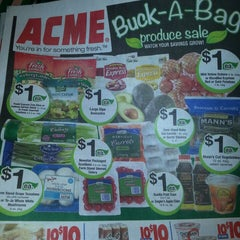 Photo taken at ACME Markets by Alisa on 10/21/2013
