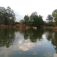 Photo taken at Parque Metropolitano La Sabana by Sarah B. on 3/18/2013