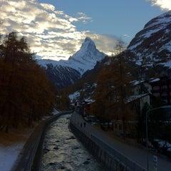 Photo taken at Matterhorn Glacier Paradise by Julia A. on 11/4/2012