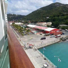 Photo taken at Port Of St. Thomas by Guity R. on 12/10/2012