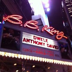 Photo taken at B.B. King Blues Club & Grill by Briszeida B. on 1/22/2013