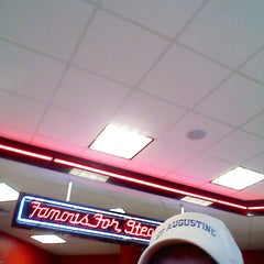 Photo taken at Steak 'n Shake by Jim R. on 5/2/2013