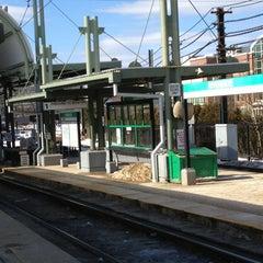 Photo taken at MBTA Riverside Station by Ray C. on 2/21/2013