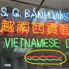 Photo taken at Saigon Vietnamese Sandwich Deli by Michelle Wendy on 8/14/2013