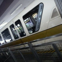 Photo taken at Monorail Gold by Amanda on 1/7/2013