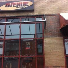 Photo taken at Avenue Theater by Erik J. on 5/12/2014