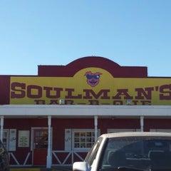 Photo taken at Soulman's Bar B-Que by Lukas K. on 12/20/2012
