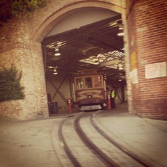 Photo taken at San Francisco Cable Car Museum by Lisa on 6/21/2013