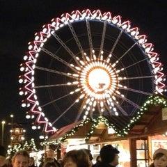 Photo taken at Weihnachtsmarkt am Roten Rathaus by Da N. on 12/4/2012