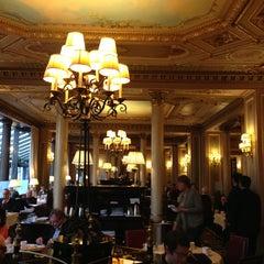 Photo taken at Café de la Paix by Spartak K. on 4/28/2013