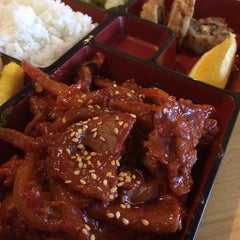 Photo taken at Saya Korean and Japanese Restaurant by Jeff B. on 12/17/2013
