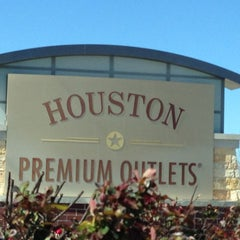 Photo taken at Houston Premium Outlets by David C. on 2/17/2013