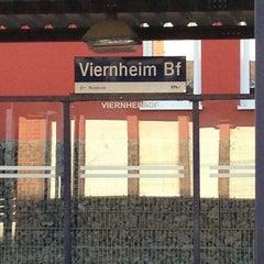 Photo taken at OEG Bahnhof by Jens G. on 3/6/2013