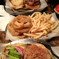 Photo taken at Black Iron Burger by TahRaySa X. on 10/20/2012