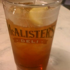 Photo taken at Mcalister's Deli by Mike H. on 12/10/2012
