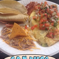 Photo taken at Taco Rey Taco Shop by Holly R. on 8/2/2015