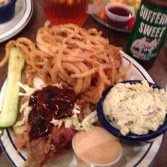 Photo taken at Red Hot & Blue  -  Barbecue, Burgers & Blues by Matt W. on 12/24/2012