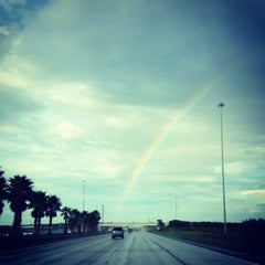 Photo taken at Howard Frankland Bridge by Vicki H. on 10/9/2012