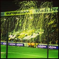 Photo taken at Herman Vanderpoortenstadion | Het Lisp by Nathalie M. on 2/16/2013