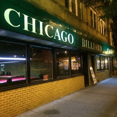 Photo taken at Chicago Billiards Cafe by Rich H. on 1/30/2015