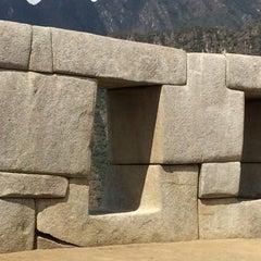 Photo taken at Templo de las Tres Ventanas by Fluying on 9/8/2015